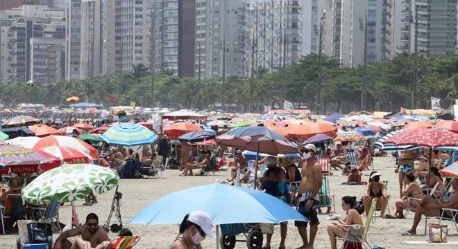 Nas duas semanas anteriores, Brasil havia registrado alta da taxa de transmissão