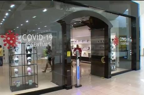 Loja em Miami vende produtos para a pandemia