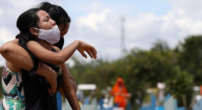 População sofre com segunda onda de covid-19 no Amazonas