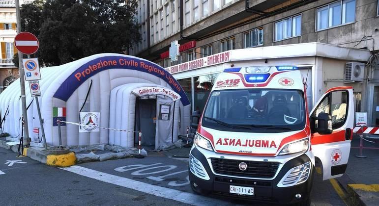 Covid na Itália: hospitais registra aumento do número de casos