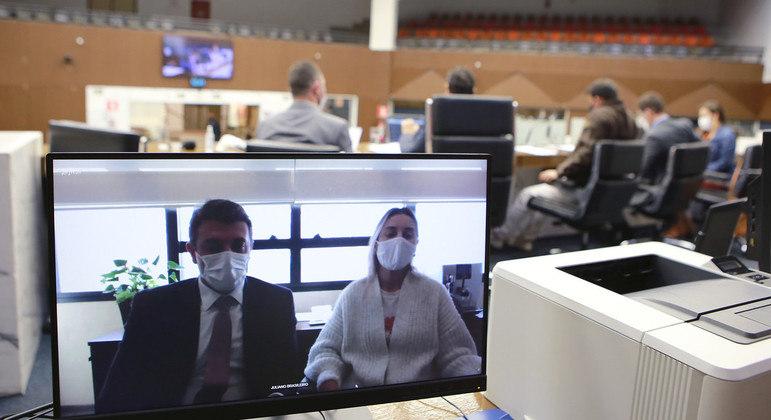 CPI ouviu depoimento de Ana Paula Carvalho, que trabalha na Rodopass