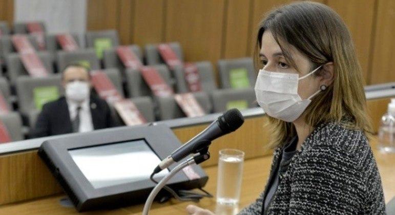 A auditora interna Débora Lage Martins prestou depoimento à CPI da Cemig