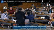 Participação das mulheres na CPI da Covid causa briga