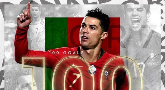 Homenagem to twitter da UEFA a Cristiano Ronaldo