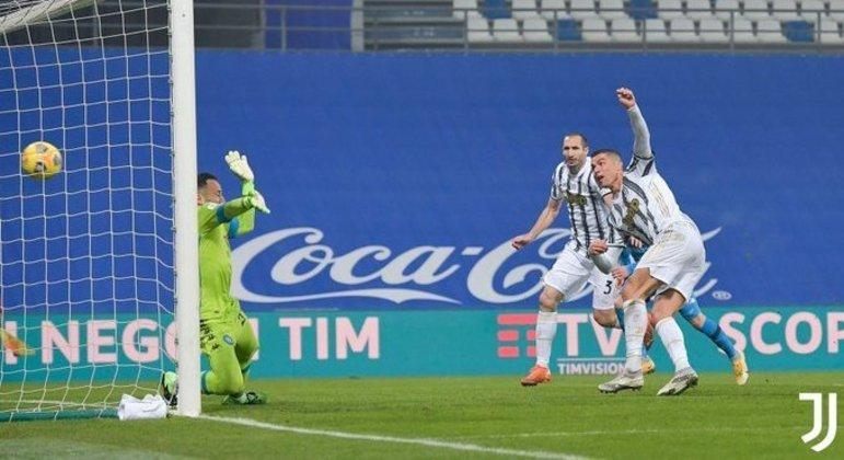 A virada de Cristiano Ronaldo, Juve 1 X 0 Napoli