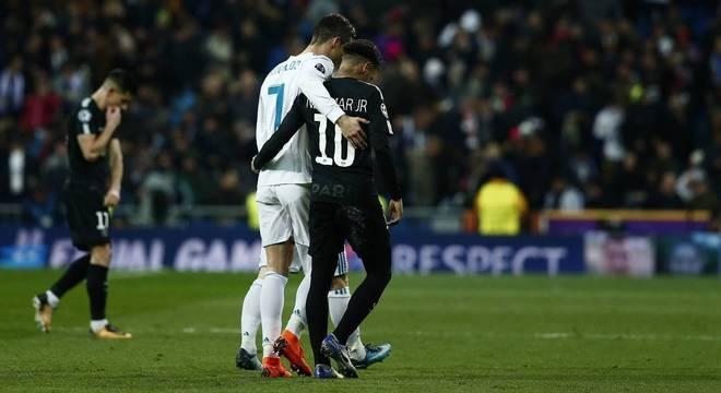 Neymar é o favorito para substituir CR7, segundo a imprensa espanhola