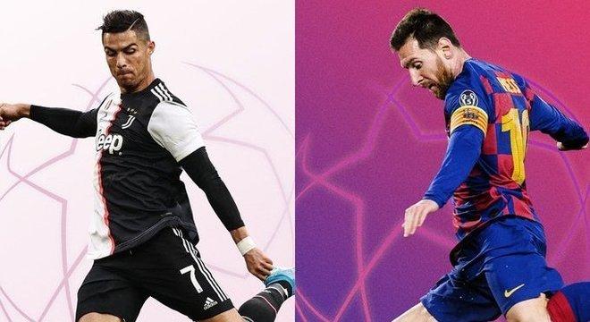 Cristiano Ronaldo X Messi, o confronto de astros do Grupo G