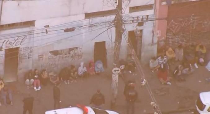 Mais de 600 agentes foram mobilizados nesta operação