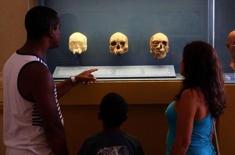 Crânio estava em local que foi preservado
