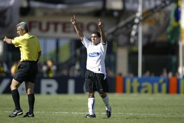 Craque do Boca Juniors campeão da Libertadores e intercontinental em 2003, o atacante tinha 20 anos quando foi anunciado para ser o astro do milionário time do Corinthians montado pela MSI, em 2005