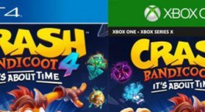 Crash Bandicoot 4: It's About Time vaza por agência de classificação