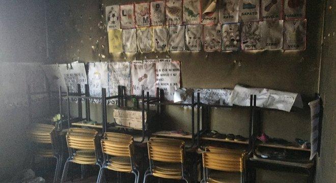Ataque incendiário em creche matou crianças e professora