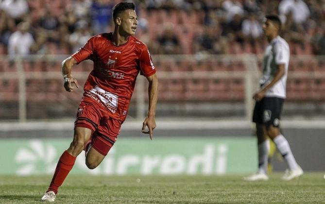 Crescimento no Galo de Itu - Em sua primeira temporada, anotou apenas quatro gols e, na seguinte, ganhou espaço e acabou com 15 tentos em 19 partidas, se tornando a principal joia da equipe do interior paulista.