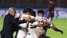 São Paulo é o time que está jogando o melhor futebol no Brasil