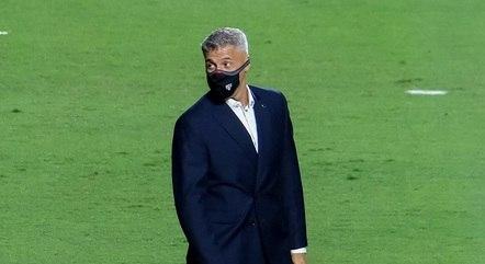 Crespo chegou ao São Paulo em fevereiro último