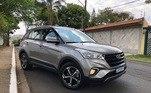 Hyundai CretaO modelo SUV foi comercializado 47.757 vezes entre janeiro de dezembro do ano passado, afirma a Fenabrave