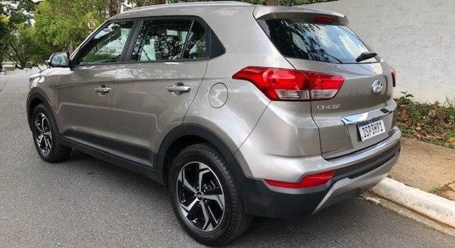 O Hyundai Creta na versão Smart Plus trouxe algumas mudanças visuais bem discretas no para-choque