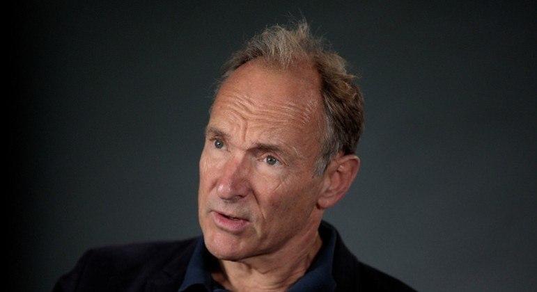 Físico Tim Berners-Lee, o criador do World Wide Web