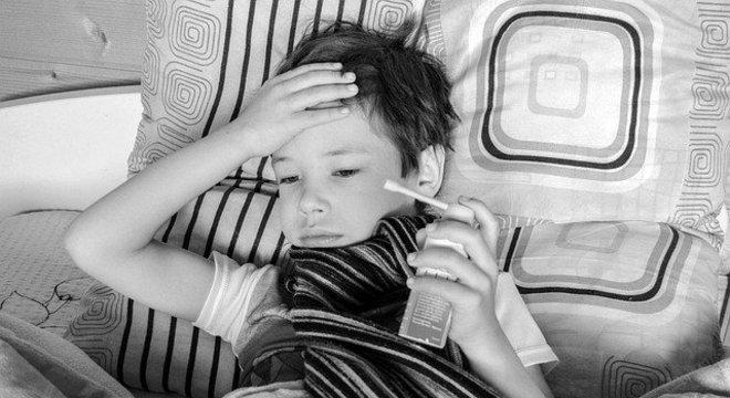 A asma é uma doença crônica que costuma aparecer na infância