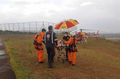 Criança foi levada para o Hospital João 23, em BH