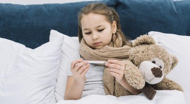 As crianças são um importante foco de transmissão de doenças respiratórias