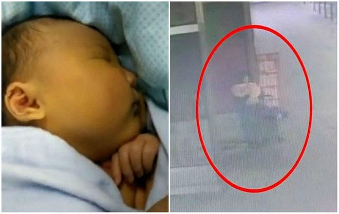 Câmeras de segurança flagraram o momento em que uma mulher deixou uma criança em um frio de -20°C apenas com um cobertor. O crime ocorreu nas proximidades de um shopping na província deHeilongjiang, no norte do país e a polícia está procurando a mulher que aparece nas imagens