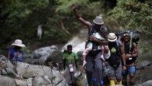 Alerta do Unicef: 19 mil crianças cruzaram selva rumo aos EUA