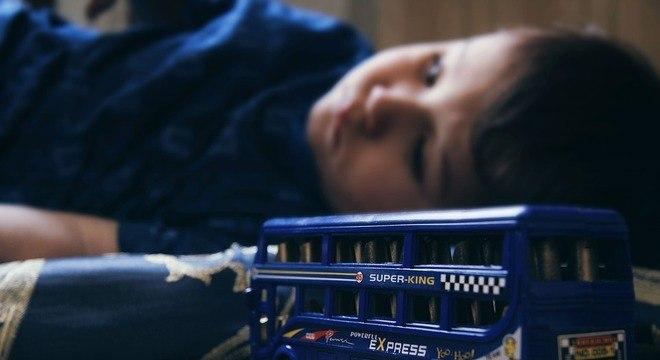 Em crianças, a prevalência de depressão está em torno de 1%