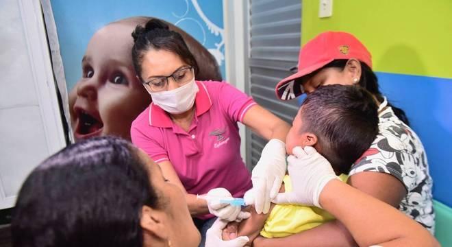 Campas de vacinação contra a poliomielite e de multivacinação vão até 30 de outubro