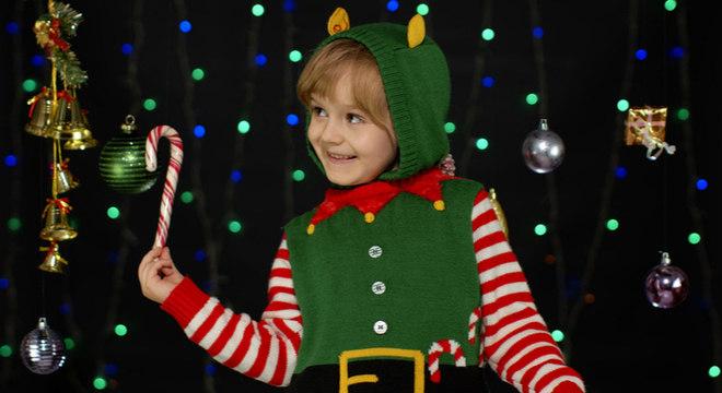 Crianças no Natal: como incluir os filhos nas preparações dos presentes