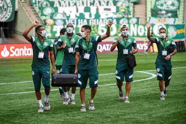 Crias da Academia ganham espaço: A base do Palmeiras finalmente foi aproveitada em 2020. Com mais de uma dezena de garotos estreando pelo profissional, Gabriel Menino, Patrick de Paula e Gabriel Veron, que havia jogado já no final de 2019, são os principais destaques.
