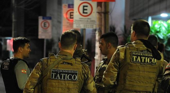 Polícia investiga quadrilha responsável por noite de terror em Criciúma