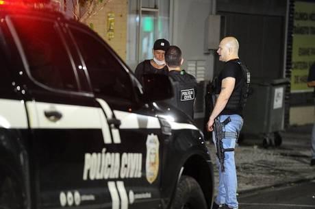 Funcionários da prefeitura foram feitos de reféns
