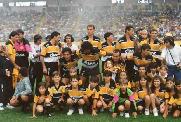 Criciúma: 3 vitórias - Em 1992, o time de Santa Catarina fez história ao chegar até as quartas de final. Durante a histórica campanha, o Tigre venceu São Paulo, San Jose e Sporting Cristal fora de casa