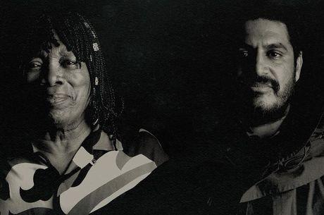 Foto da capa do EP de Milton e Criolo