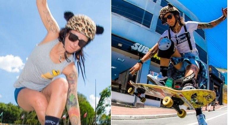 Cris Punk anda de skate há mais de 20 anos: 'É um estilo de vida'