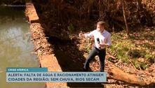 Alerta: falta de água e racionamento atingem cidades da região