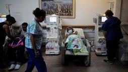 Apagões na Venezuela agravam drama de quem depende de diálise<br> (REUTERS/Ueslei Marcelino/19.04.2019)
