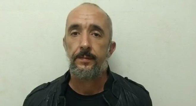 Cristian voltou a ser preso em 2018 e está na Penitenciária II de Tremembé