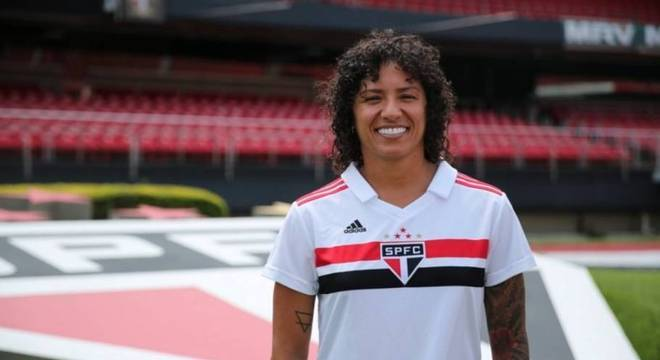 Cristiane é jogadora do São Paulo. Foi a grande contratada do país em 2019