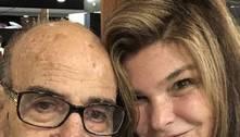 Cristiana Oliveira celebra alta do sogro, de 91 anos, após covid-19