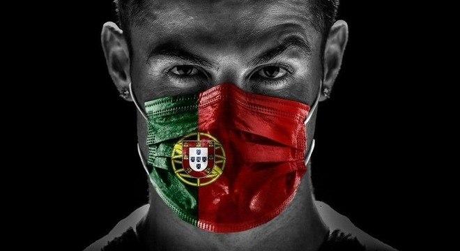 Cristiano Ronaldo, o capitão de Portugal, o atual campeão