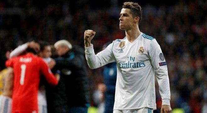 Cristiano Ronaldo fez 450 gols em 438 jogos no Real Madrid