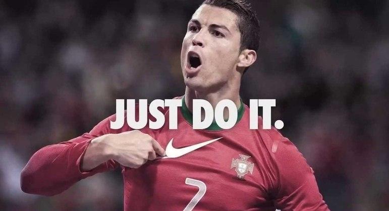 Cristiano Ronaldo foi acusado de estupro. Mas a Nike resolveu seguir com o português