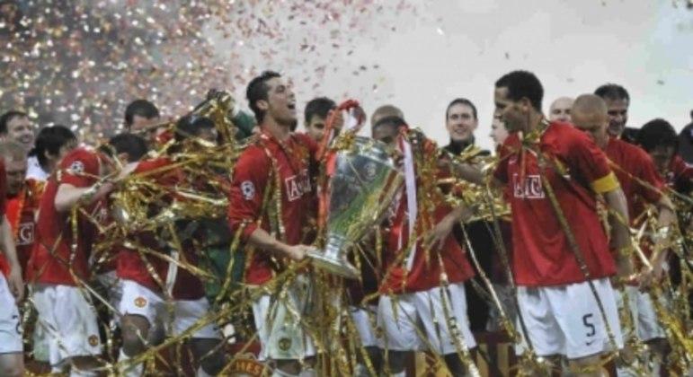 Cristiano Ronaldo - Campeão da Champions League com o Manchester United