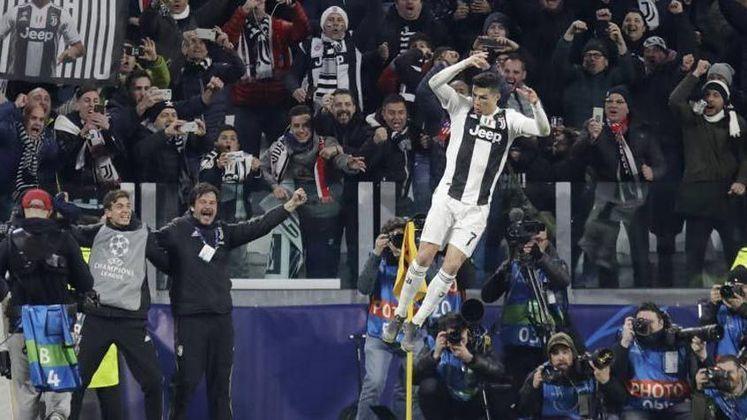 Cristiano Ronaldo: Com 130 gols em 177 jogos, CR7 é o maior artilheiro da história da competição, já tendo jogado a Liga dos Campeões por Sporting, Manchester United e Real Madrid.
