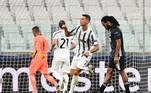 O português conseguiu marcar um belo gol, em chute da entrada da área, ainda no início do segundo tempo, dando esperanças aos torcedores da Juventus