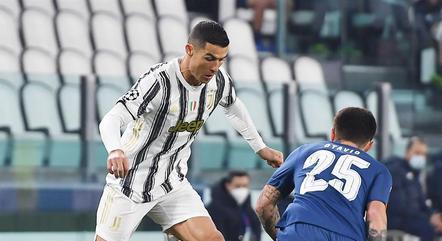 Cristiano Ronaldo foi mal contra o Porto
