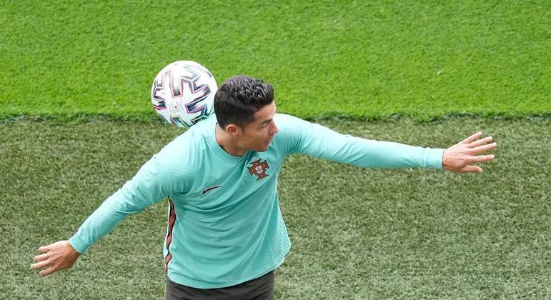 Cristiano Ronaldo é um dos grandes nomes da Eurocopa
