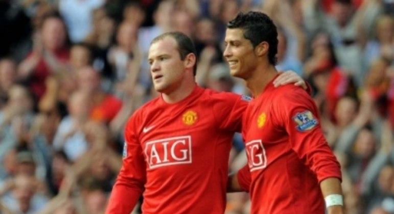 Cristiano Ronaldo e Rooney - Manchester United